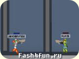 Flash игра Unreal Tournament 2D
