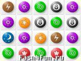 Flash игра Цветные камешки