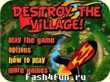 Flash игра Ракетная атака