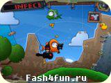 Flash игра Злые птицы в космосе